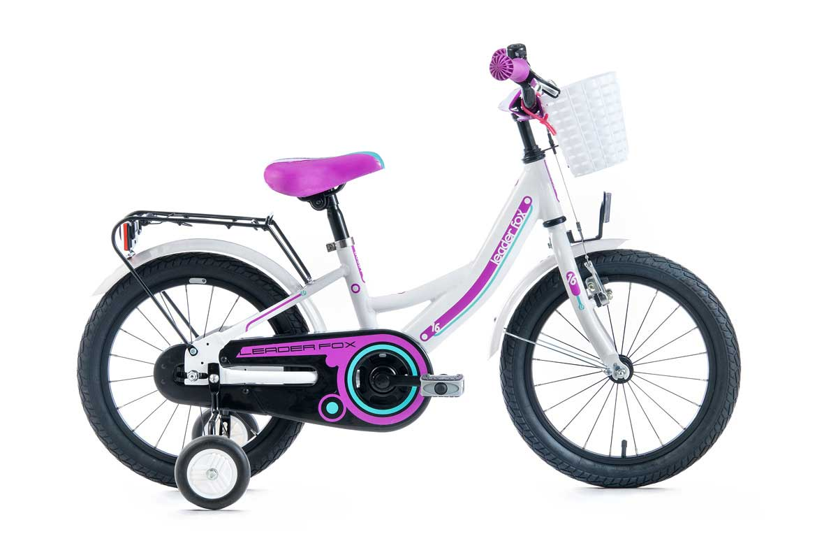 Bicicleta de copii Leader Fox Busby Girl 16 2016