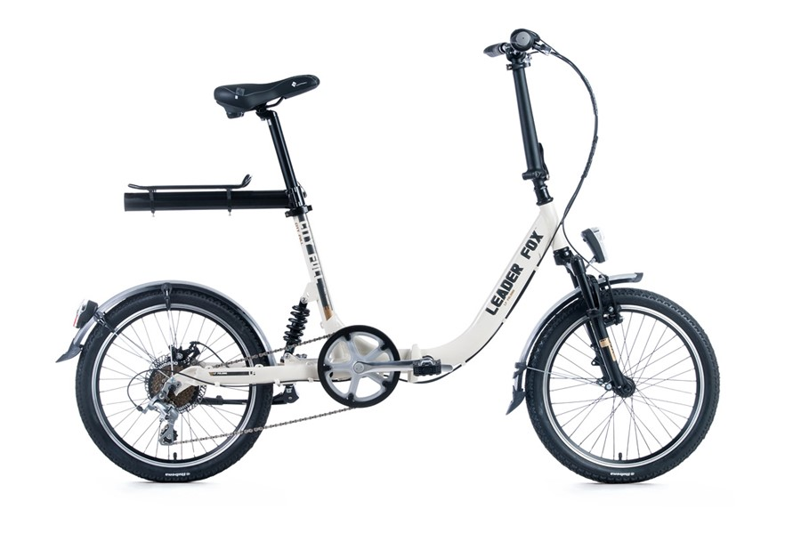 Bicicleta pliabila Leader Fox City Full 2016