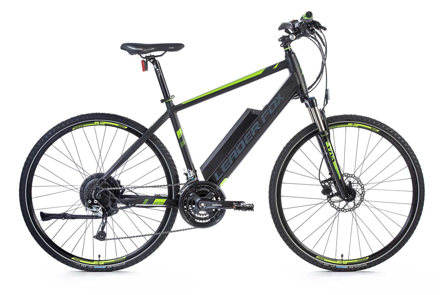 Bicicleta Electrica Cross Leader Fox BARNET Gent 2018