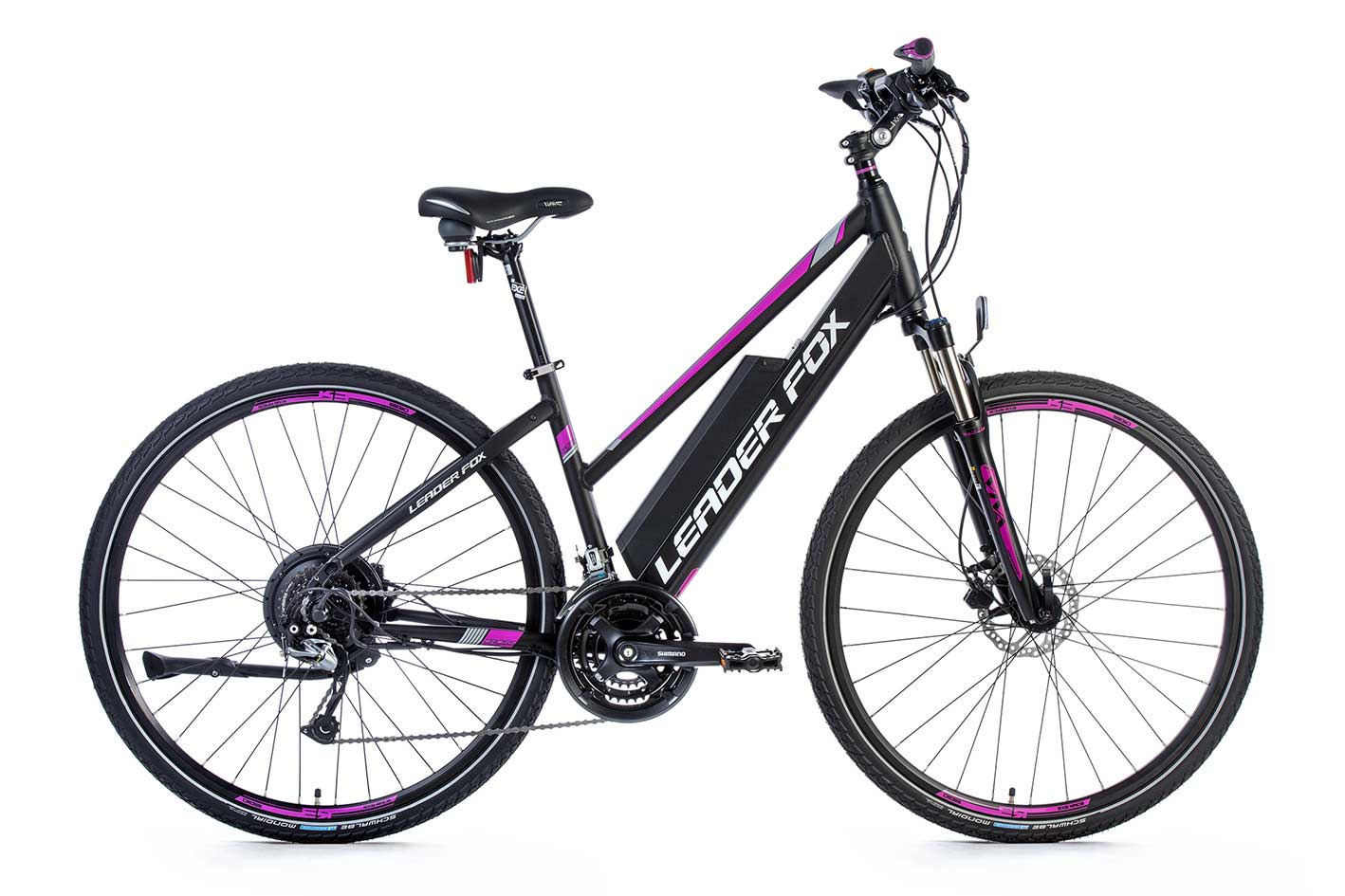Bicicleta Electrica Cross Leader Fox BARNET Lady 2018