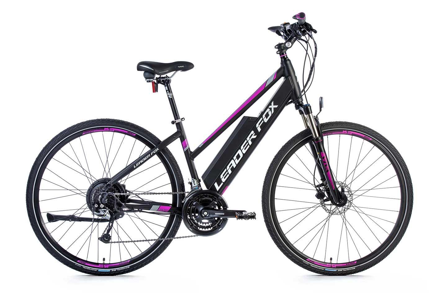 Bicicleta Electrica Cross Leader Fox BARNET Lady 2018