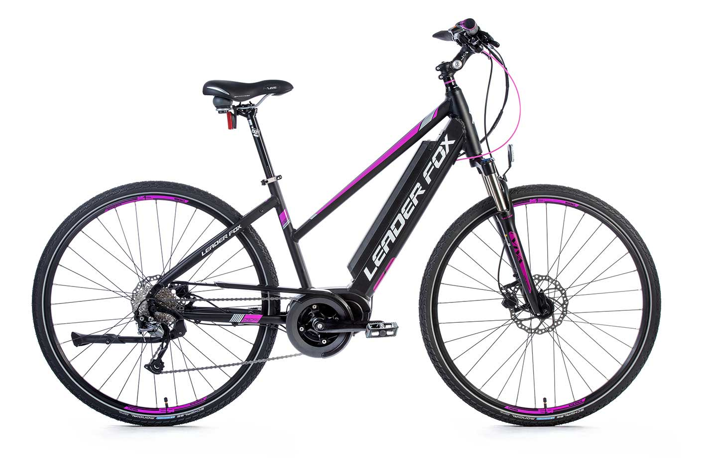 Bicicleta Electrica Cross Leader Fox BEND Lady 2018