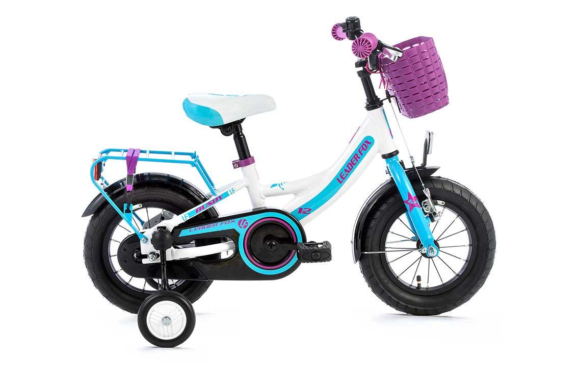 Bicicleta pentru Copii Leader Fox Busby Girl, aluminiu, roata 12 inch