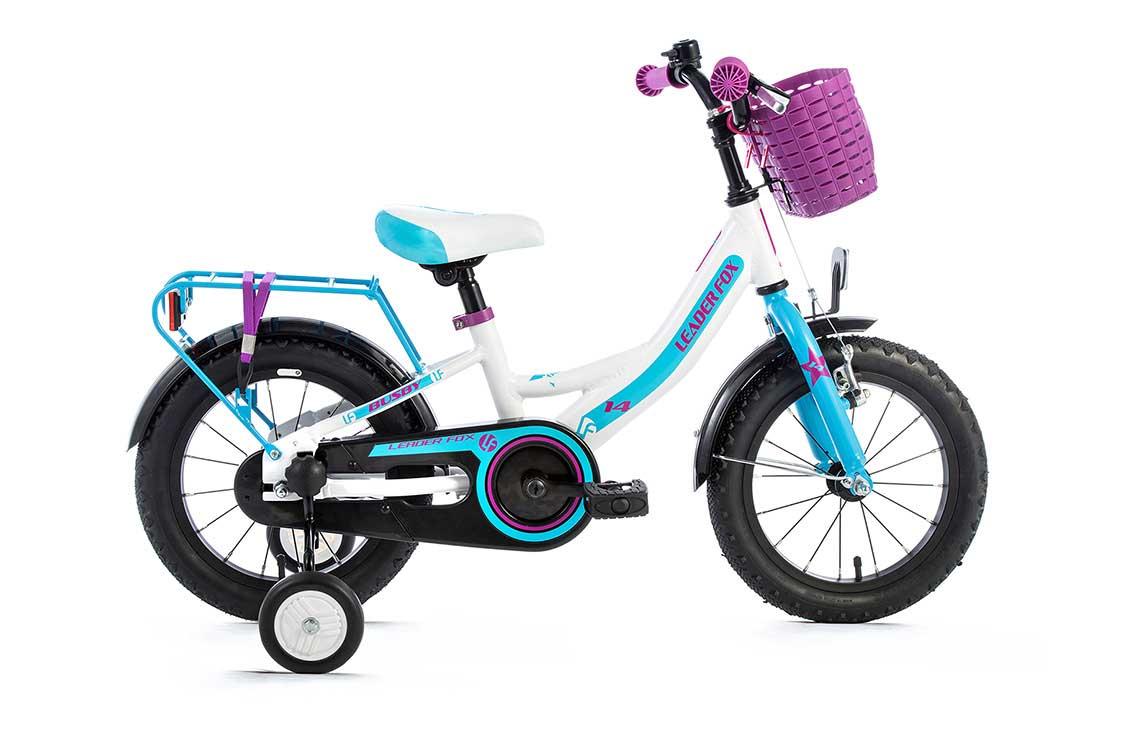 Bicicleta pentru Copii Leader Fox Busby Girl, aluminiu, roata 14 inch
