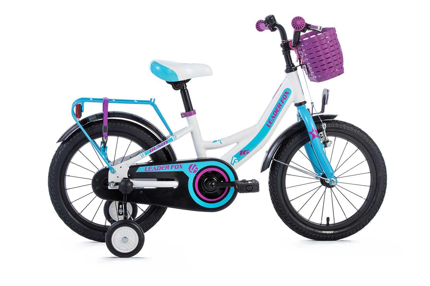 Bicicleta pentru Copii Leader Fox BUSBY Girl 16