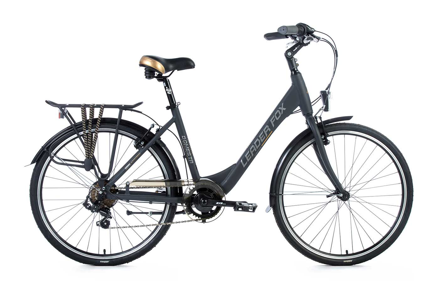 Bicicleta de Oras Leader Fox Domesta, 7 viteze, roata 26 inch