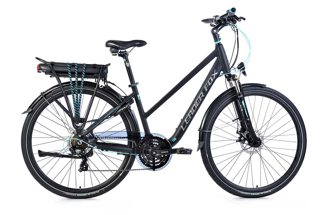 Bicicleta Electrica Leader Fox FORENZA Lady 28