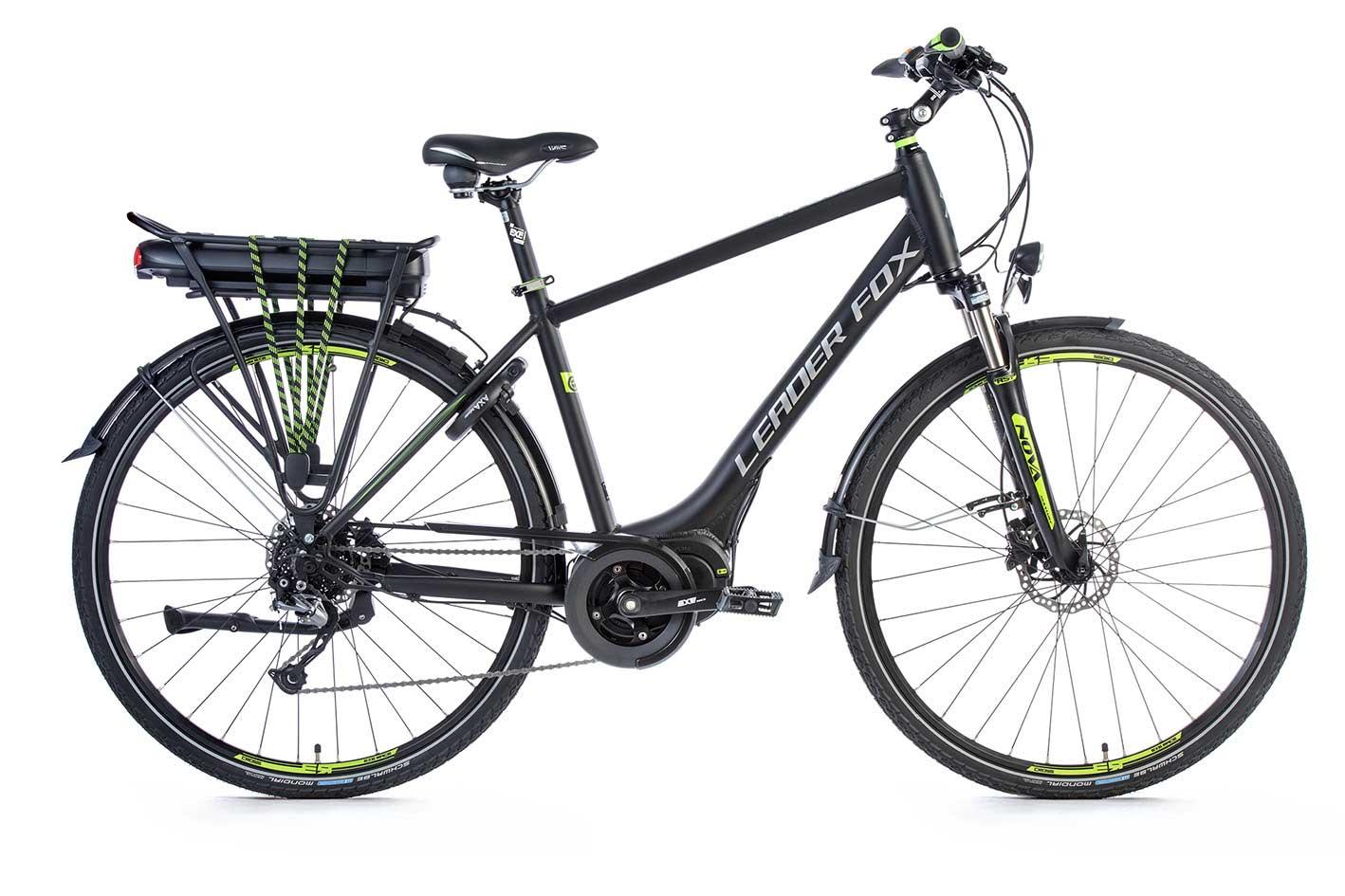 Bicicleta Electrica Leader Fox HASUDA Gent 2018