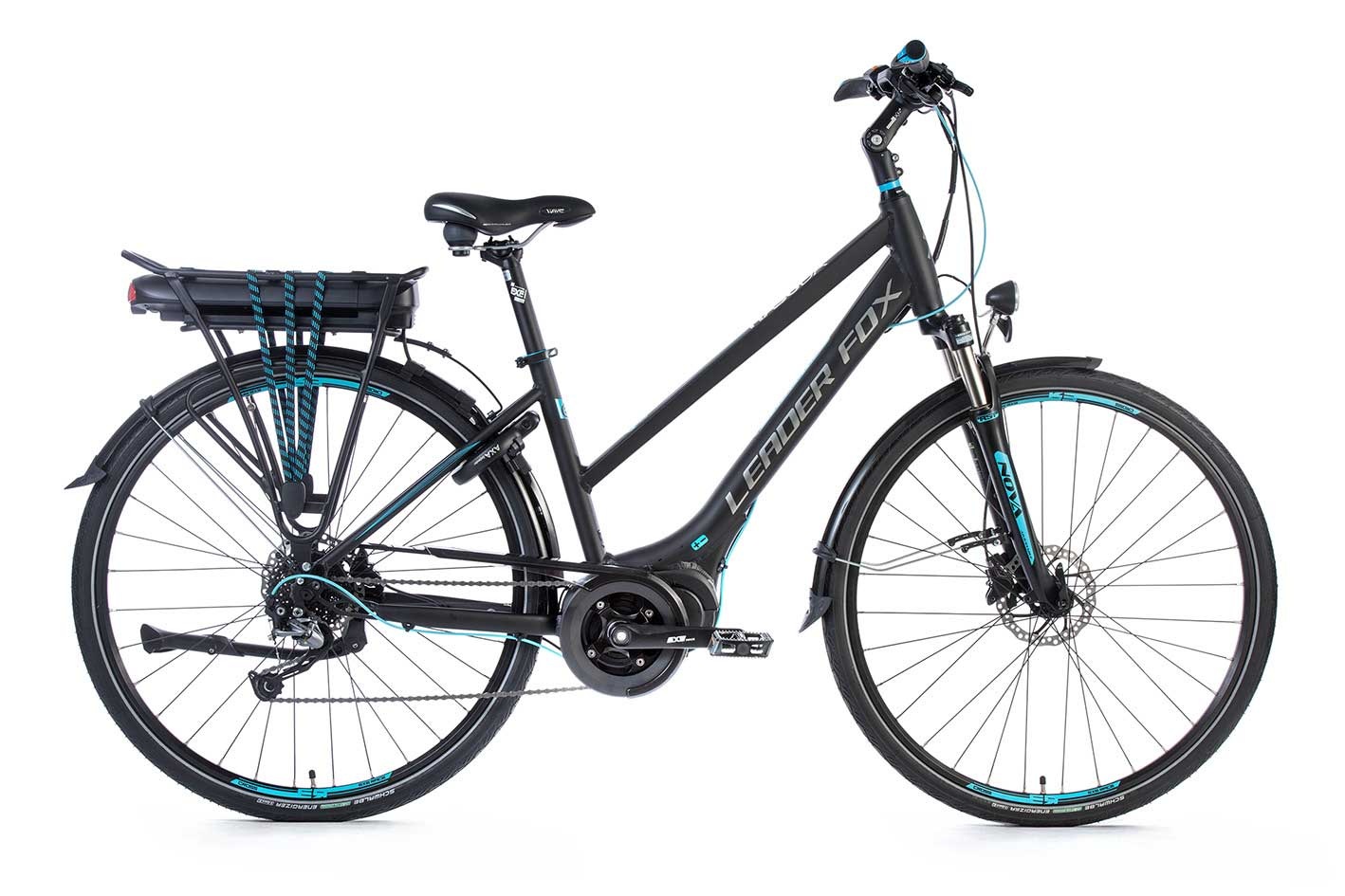 Bicicleta Electrica Leader Fox HASUDA Lady 28
