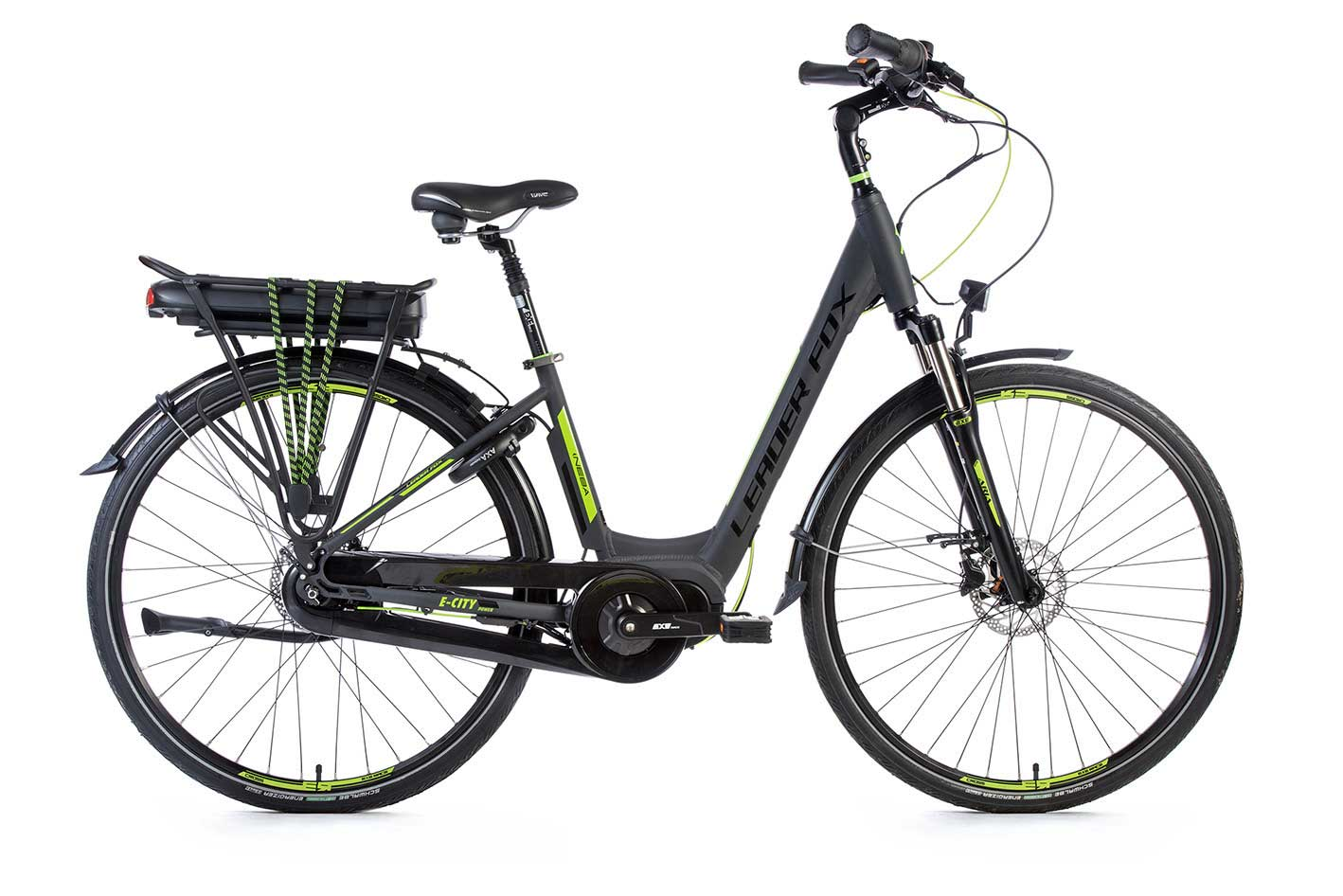 Bicicleta Electrica Leader Fox NEBA CITY 28
