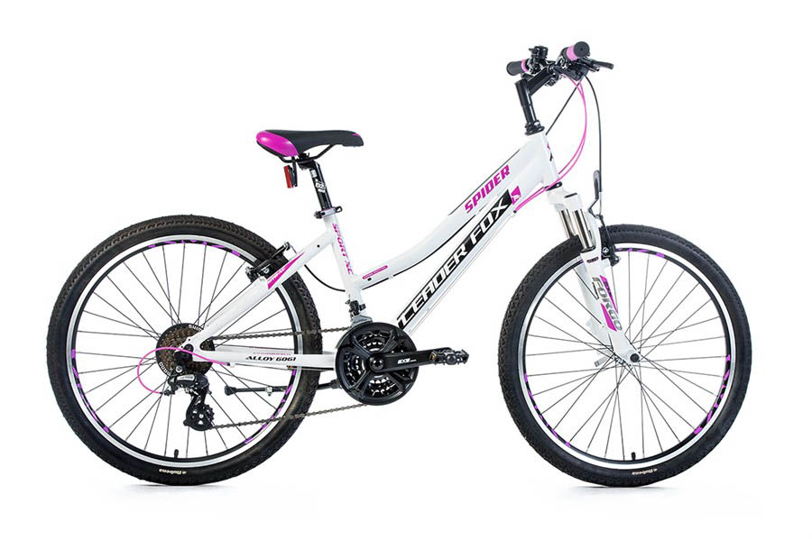 Bicicicleta pentru Copii Leader Fox SPIDER Girl 24