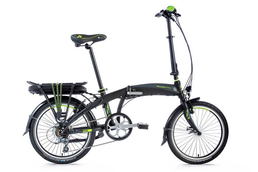 Bicicleta Electrica Pliabila Leader Fox TIFTON 2018