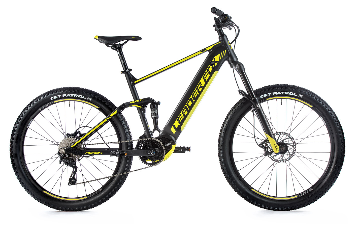 Bicicleta electrica MTB Full Suspension Leader Fox Acron 27,5 inch, 2020