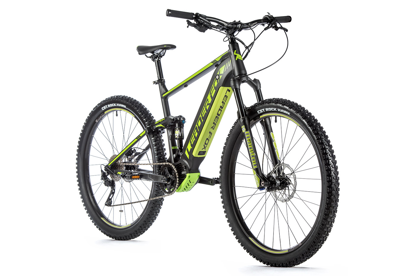 Bicicleta electrica MTB Full Suspension Leader Fox Acron 29 inch, 2020