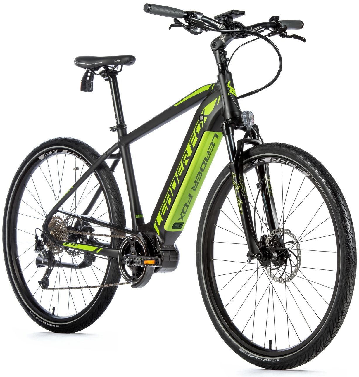 Bicicleta electrica City Leader Fox Bend Gent, 2020