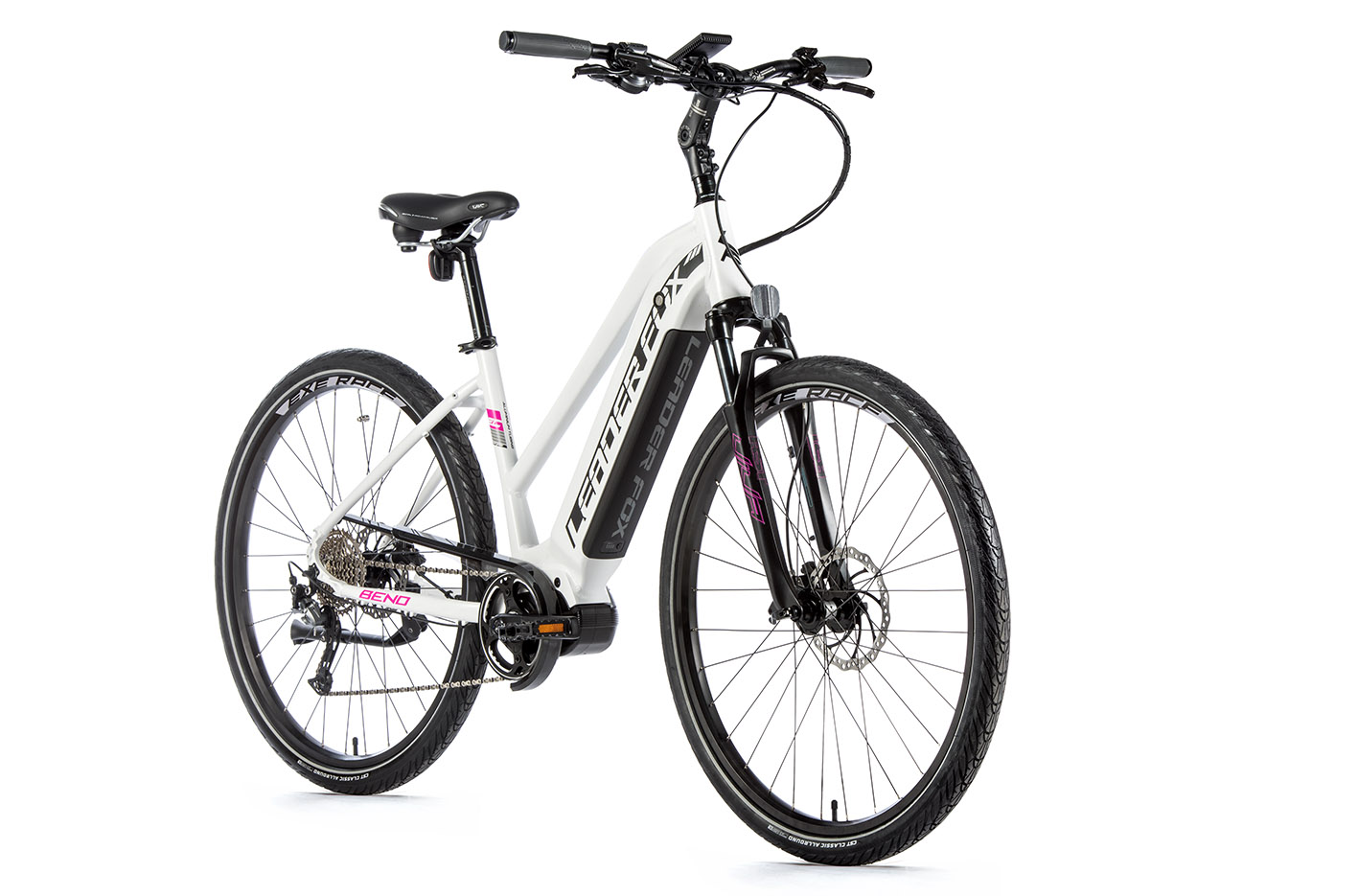 Bicicleta electrica City Leader Fox Bend Lady, 2020
