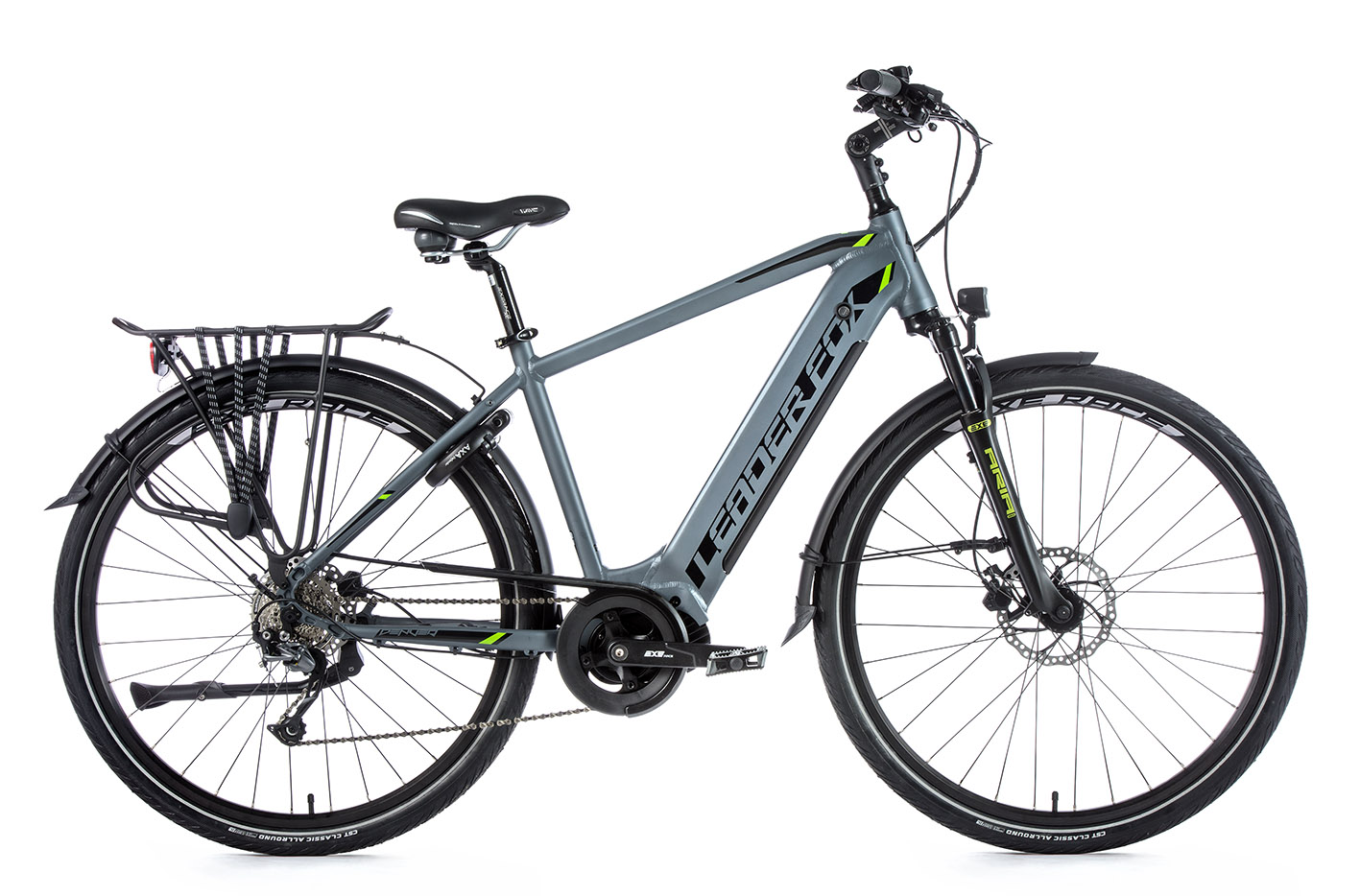 Bicicleta electrica Trekking Leader Fox Denver Gent, 2020