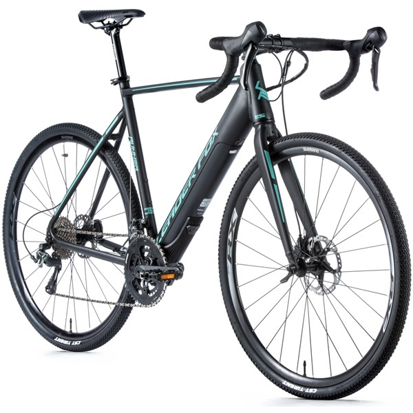 Bicicleta electrica Gravel Leader Fox Runner, 2020