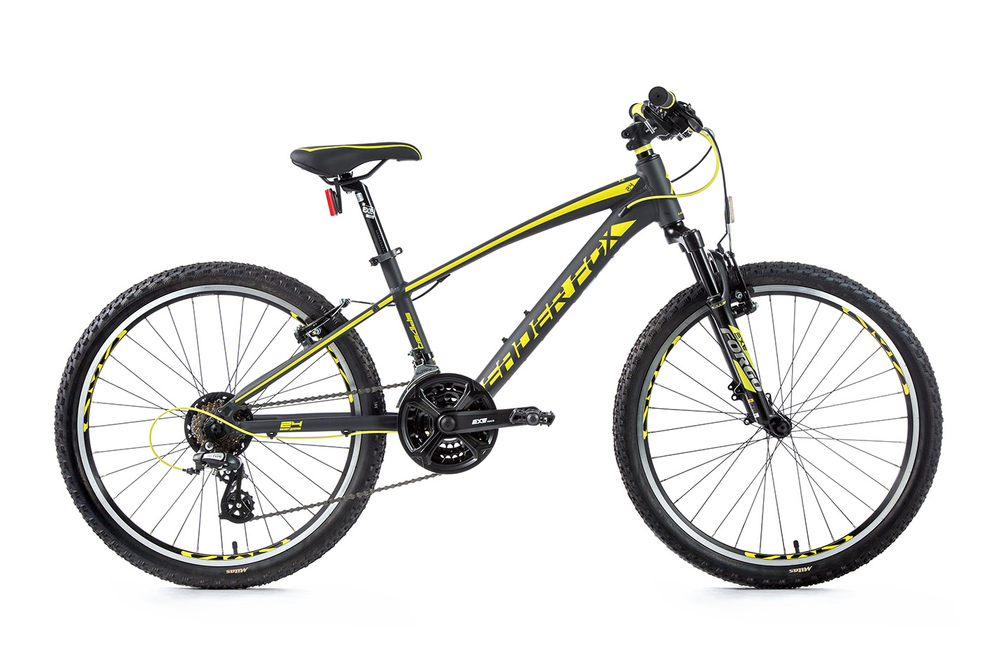 Bicicleta MTB 24 inch Leader Fox Spider Boy, 2020