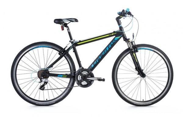 Bicicleta de cross Leader Fox Vitis Gent, 21 viteze, suspensie, roata 28 inch