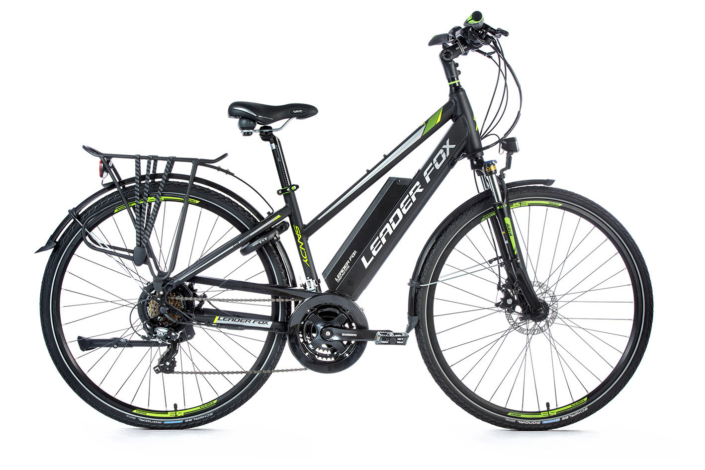 Bicicleta electrica trekking Leader Fox Sandy Lady
