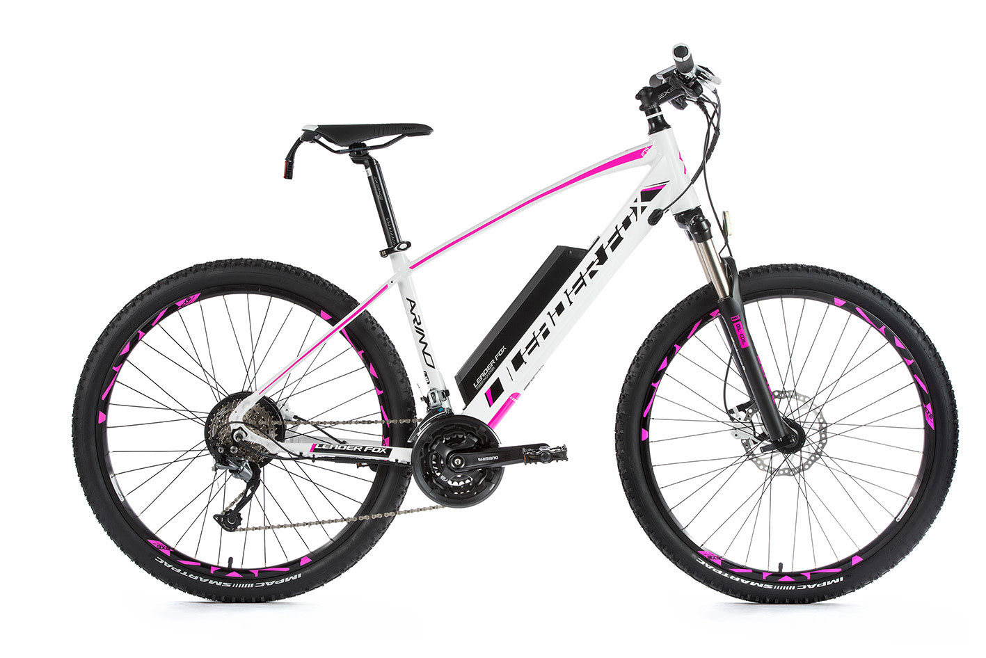 Bicicleta electrica MTB 27.5 inch Leader Fox Arimo