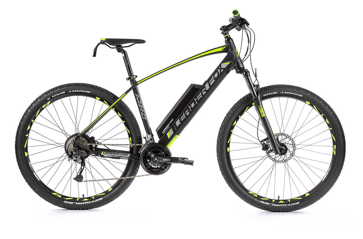Bicicleta electrica MTB 29 inch Leader Fox Arimo