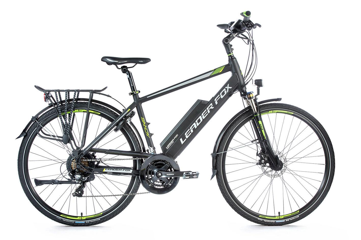 Bicicleta electrica trekking Leader Fox Sandy Gent