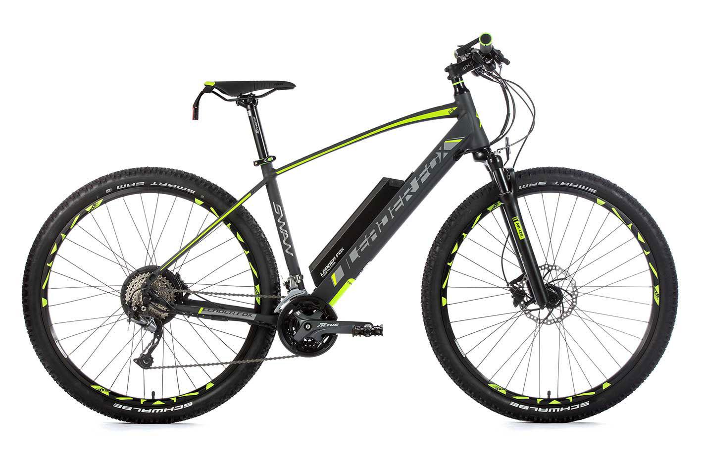 Bicicleta electrica MTB 29 inch Leader Fox Swan