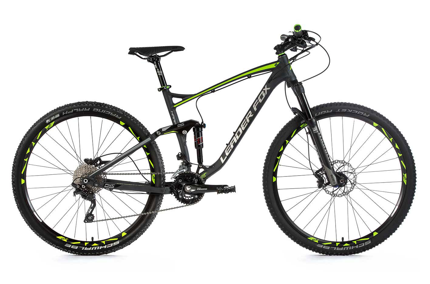 Bicicleta MTB 29 inch full suspension Leader Fox Harper