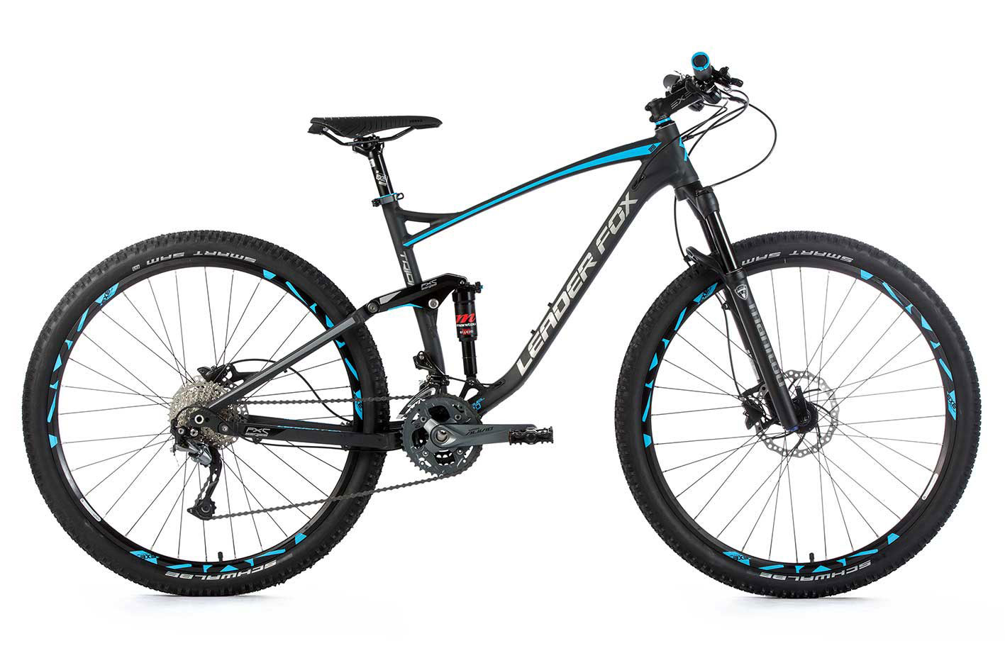 Bicicleta MTB 29 inch full suspension Leader Fox Trion