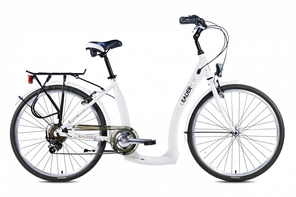 Bicicleta de oras Leader Fox Ema - Alb
