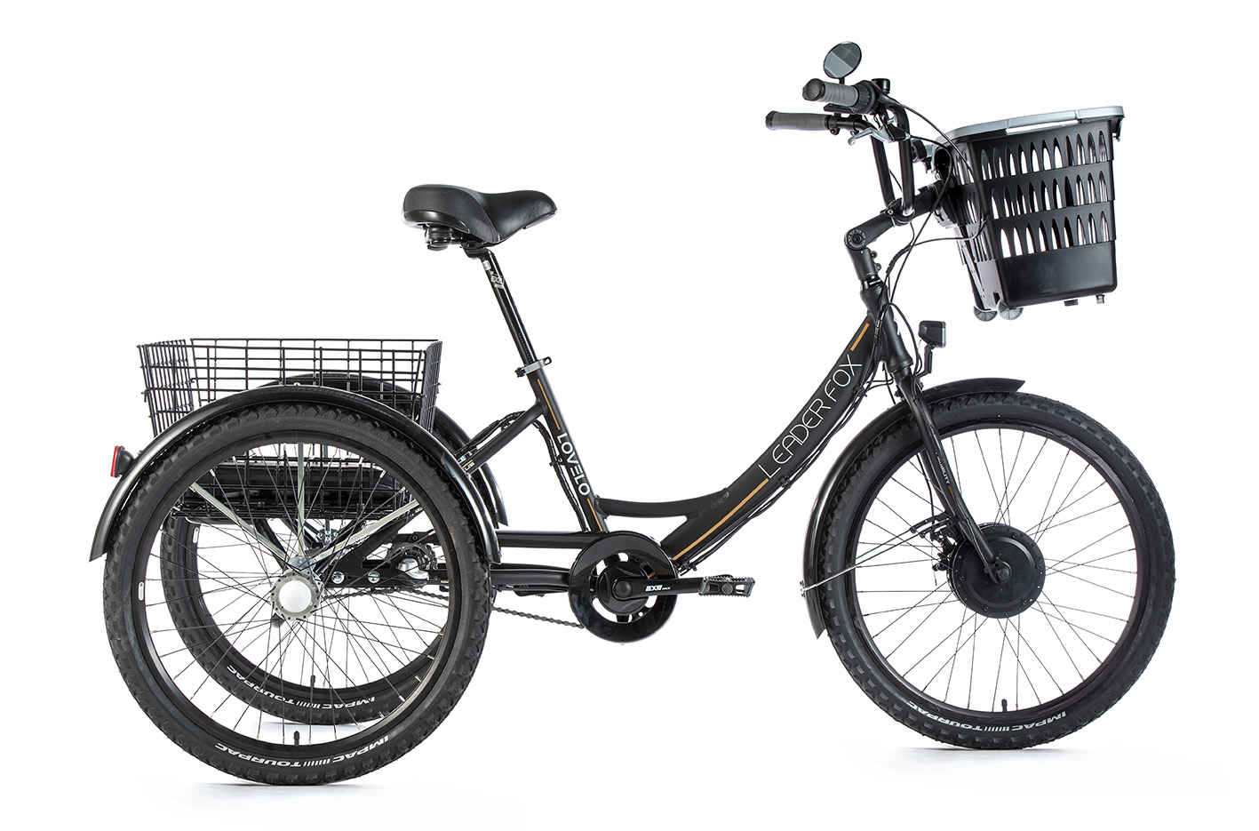 Tricicleta electrica Leader Fox Lovelo - negru