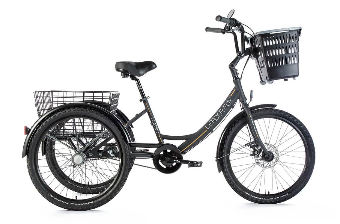Tricicleta Leader Fox Bormio 2019 - negru