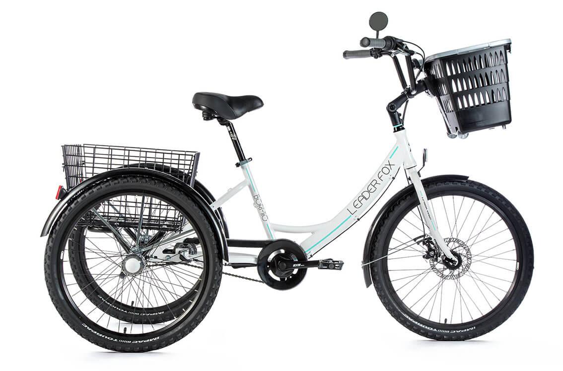 Tricicleta Leader Fox Bormio 2019 - alb