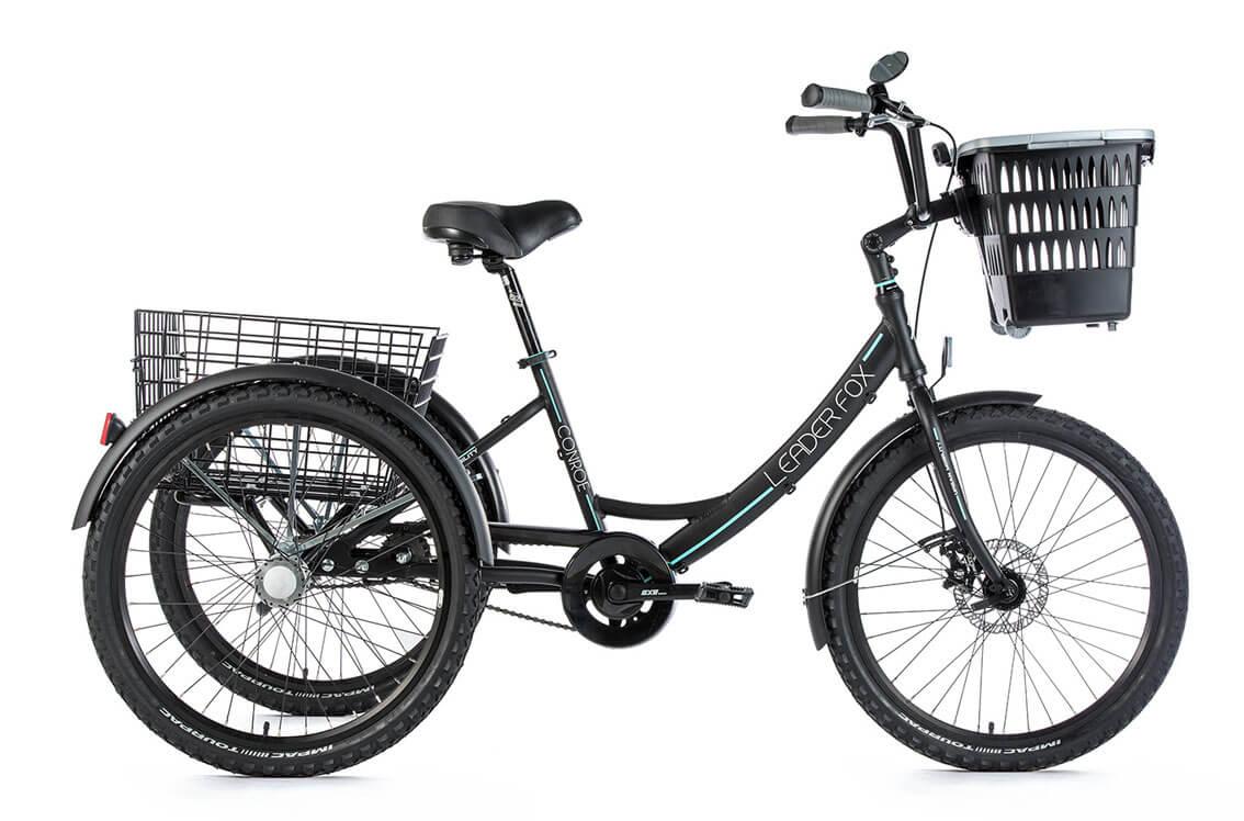 Tricicleta Leader Fox Conroe 2019 - negru