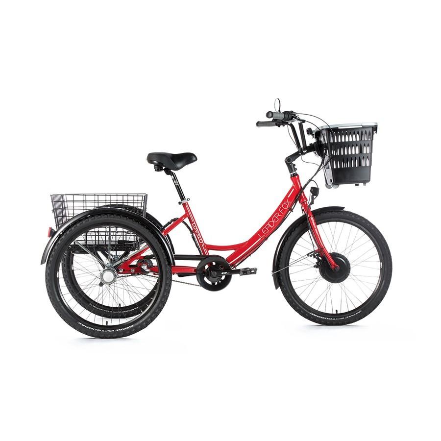 Tricicleta electrica Leader Fox Lovelo - rosu