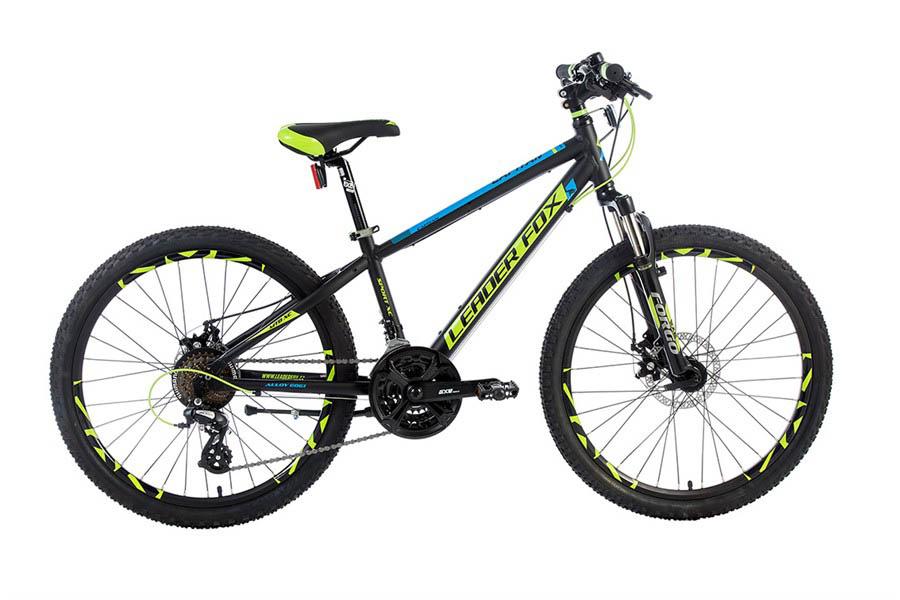Bicicicleta pentru Copii Leader Fox CAPITAN Boy 24