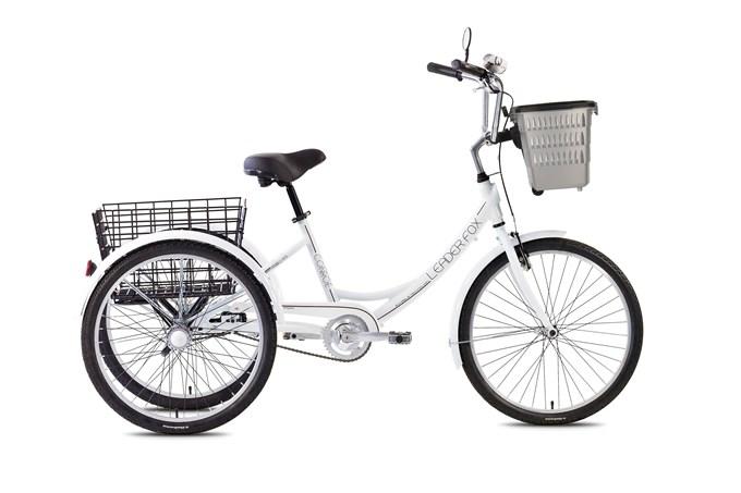 Tricicleta adulti Leader Fox Conroe - alb